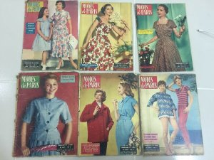 Shop báo Modes De Paris thập niên 50s