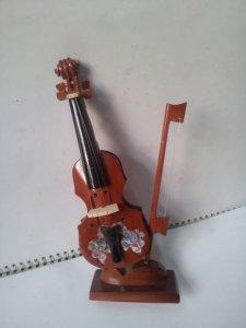 Mô hình đàn Violin gỗ tự nhiên