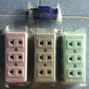 Ổ Cắm, phích cắm điện Thailand