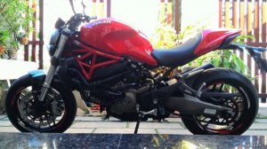 Ducati Monster 821 - 2016 như thùng.