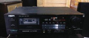 Casset Tape Deck: Philips FC870, 220V