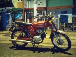 Yamaha YB 100 nguyên con hoặc rã xác