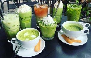 Những món ngon từ trà xanh khiến giới trẻ xao xuyến
