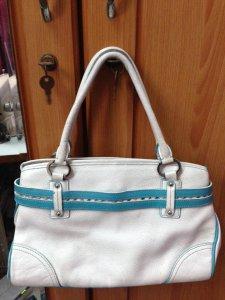 Túi xách nữ da thật màu trắng
