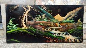 Tranh Sơn Mài TÙNG LỘC Xưa