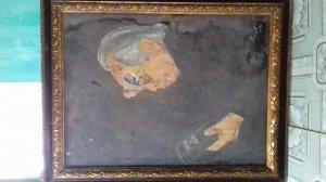 Em có bức tranh vẽ về đại tướng Võ Nguyên Giáp , do chính tay họa sĩ Hà Vũ ( Cù Huy Hà Vũ )
