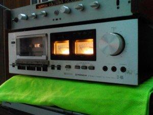 Dau deck cassette pioneer ct 405