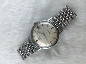 Omega Seamaster Mechanic stainless steel Cal410 dial's Silver
