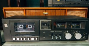 Casset Tape Deck: Technics RS-M205, 220V