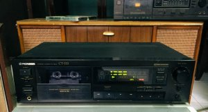 Casset Tape Deck: Pioneer CT-333, 220V