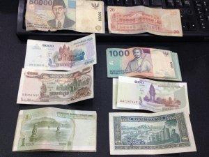 Tiền Indo, Campuchia, Phillipines, TQ, Sin...