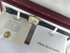 Omega Seamaster Automatic gold filled 14k Cal550 Fullbox & Paper