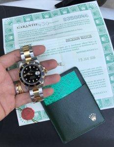 Rolex Submariner 16613 Automatic đơmi vàng đúc 18K zin Thuỵ Sỹ 100% Size 40mm