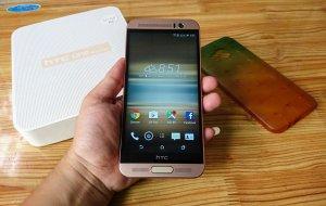 HTC One ME dual sim, Fullbox. Hàng Điện Máy Xanh, còn BH 03/11/2017