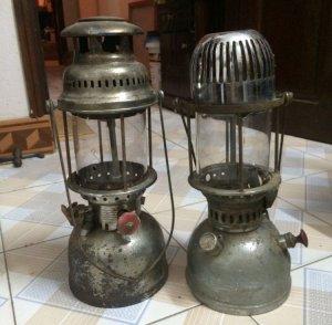 Đèn măng xông xưa