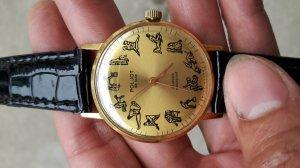 Đồng hồ poljot 23.. 12 tư thế