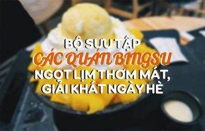 Tổng hợp list quán Bingsu ngọt lịm thơm mát, giải khát ngày hè
