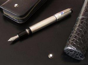 Bán bút máy Montblanc Boheme thân bạc Sterling Silver