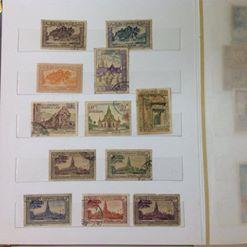 bán album tem laos và cambodia
