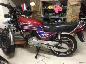 Kawasaki GTo 125 cc cổ đẹp độc . Xe hqcn sang tên nha