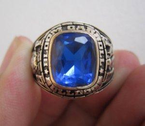 Nhẫn mỹ vàng bá cấm xanh biển rực rỡ, năm 1988