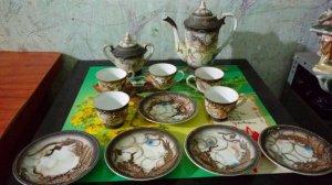 Bộ trà cổ satsuma