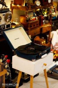 Vali đĩa than Crosley Indigo, món quà ý nghĩa cho người thân, đối tác !!