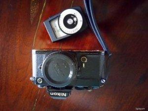 Bán Nikon FM đen + Đo sáng Senkonic