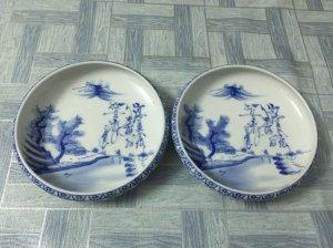 2 cái dầm trà Nhật xưa