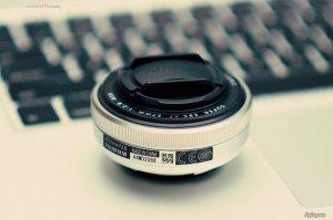 Phú Nhuận - Bán lens Fuji 27mm F2.8 pancake bạc