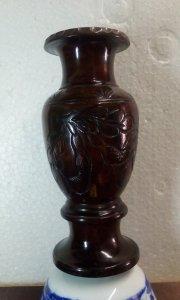 Bình hoa ( gỗ cẩm lai nguyên khối )