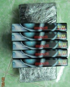 Bán băng cassette Maxell nguyên seal (mới 100%)