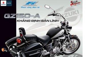 moto Suzuki GZ 150A fi