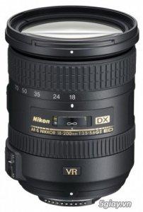 Lens Nikon 18-200mm VRII Mới 100%