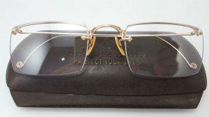 Gọng bọc vàng AO 1/10 12K GF cực hiếm gặp ngang kính 13,3cm