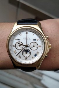 Zenith Chronographe Cal 410 Moonphase Triple Date Swiss Made số lượng giới hạn limited