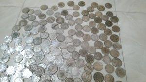 lô tiền xu cổ các nước trên thế giới.