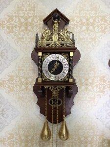 Đồng hồ treo tường tạ lê sản xuất Hà Lan 1960 !
