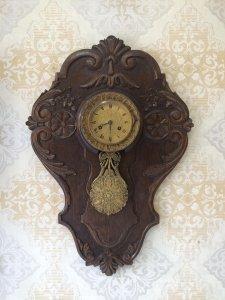 Đồng hồ phù điêu Pendule mẫu phiên bản sx Pháp 1850