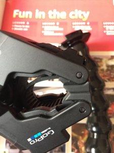 Gopro jaws flex clamp -phụ kiện chân dẻo chính hãng cho Gopro,SJcam