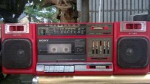 Đài casset-radio