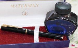 Bút máy Waterman Preface ngòi M 14K gold, hình thức như mới