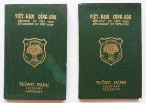 Hộ chiếu năm 1958
