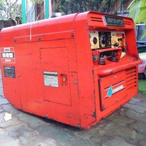 Máy phát điện 4KVA Shindaiwa, 7.5KVA Yanmar máy dầu