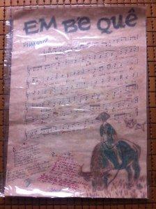 bán bản nhạc xưa của tác giả Phạm Duy