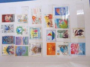 Mình bán bộ sưu tầm tem