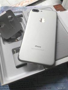 Iphone 7 plus 32gb màu bạc 99% lock kèm tặng sim ghép