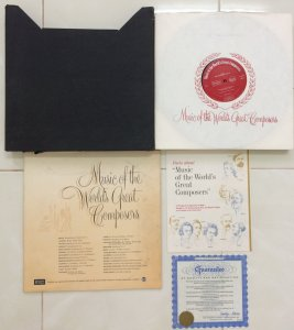 Lp: bộ 12 đĩa fullbox: Music Of The World's Great Composers