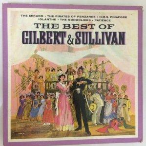 Lp đĩa nhựa bộ 3 đĩa fullbox: The Best Of Gilbert & Sullivan
