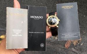 Movado automatic vàng đúc 18K zin Thuỵ Sỹ 100%